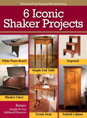 6 Iconic Shaker Projects Digital Download-0