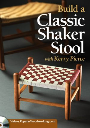 Build a Classic Shaker Stool Video Download-0