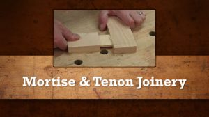 Intro to Hand Tools: Mortise & Tenon Joinery-0