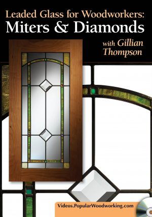 Leaded Glass for Woodworkers: Miters & Diamonds Video Download-0