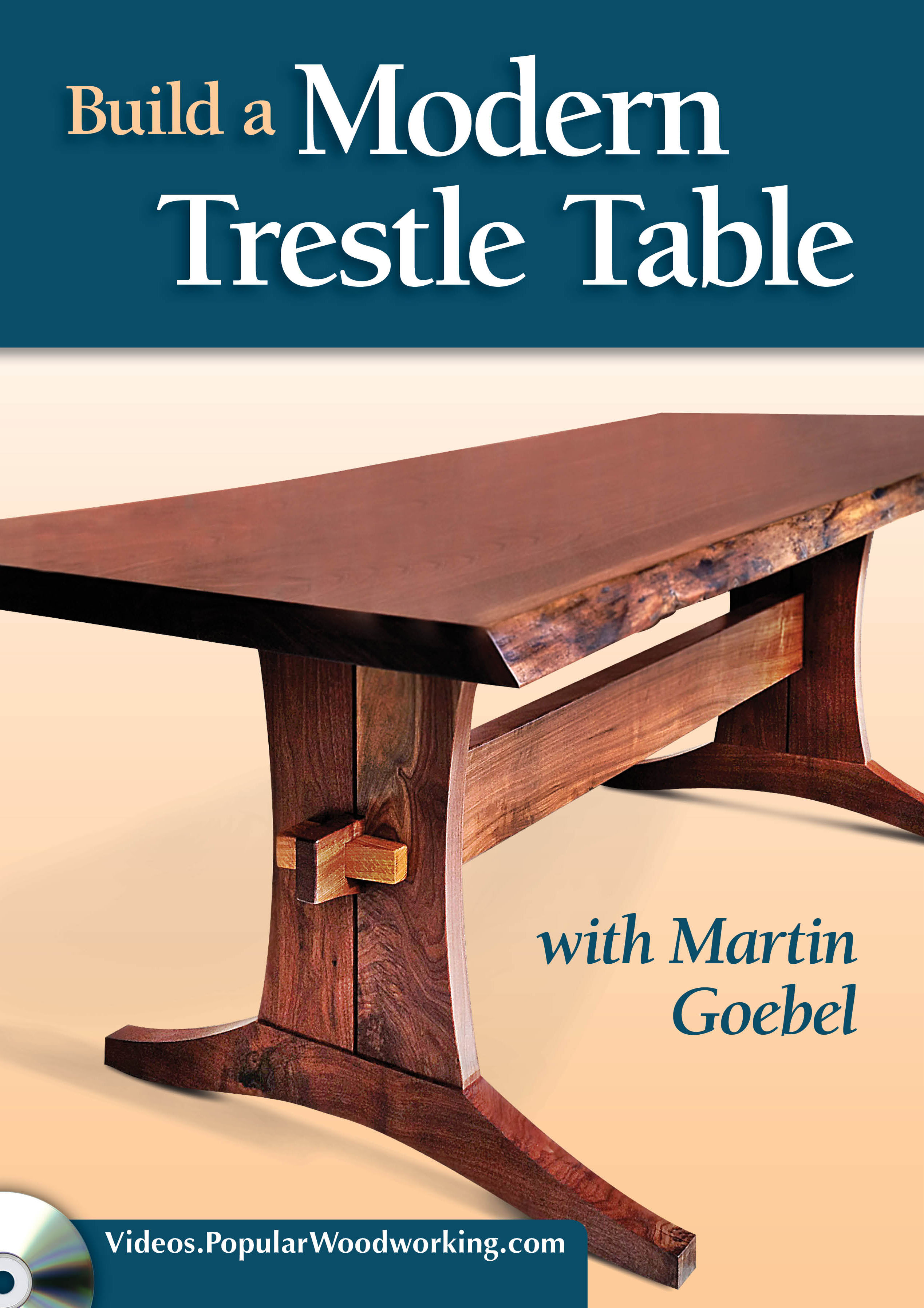 Build A Modern Trestle Table Video Download Popular Woodworking Magazine