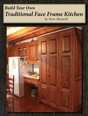 Build Your Own Traditional Face Frame Kitchen eBook-0