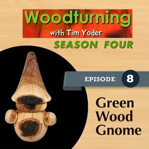 Woodturning with Tim - Green Wood Garden Gnome-0