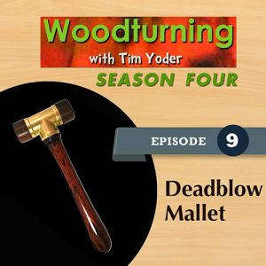 Woodturning with Tim - Deadblow Mallet-0