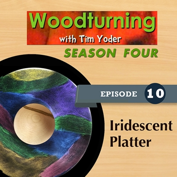 Woodturning with Tim - Iridescent Platter-0