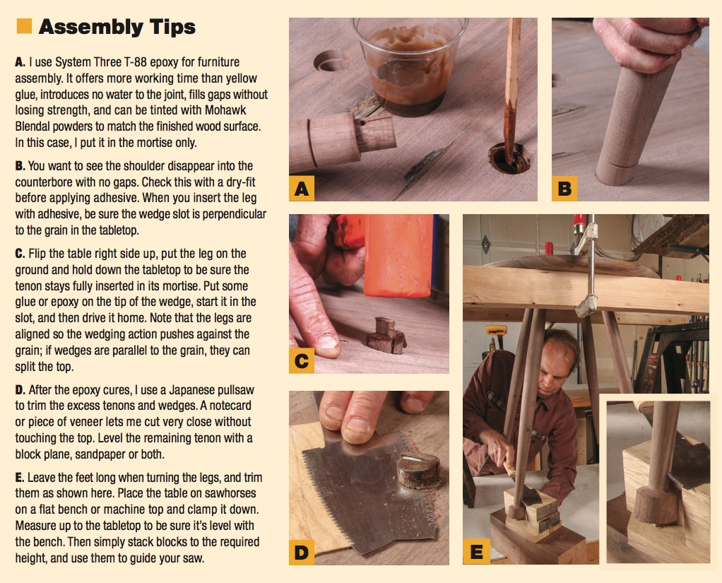 assembly tips