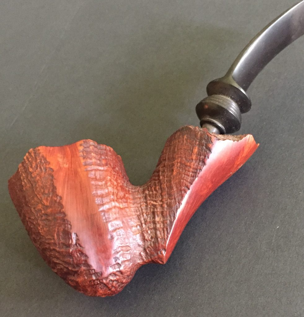 rustication in a pipe