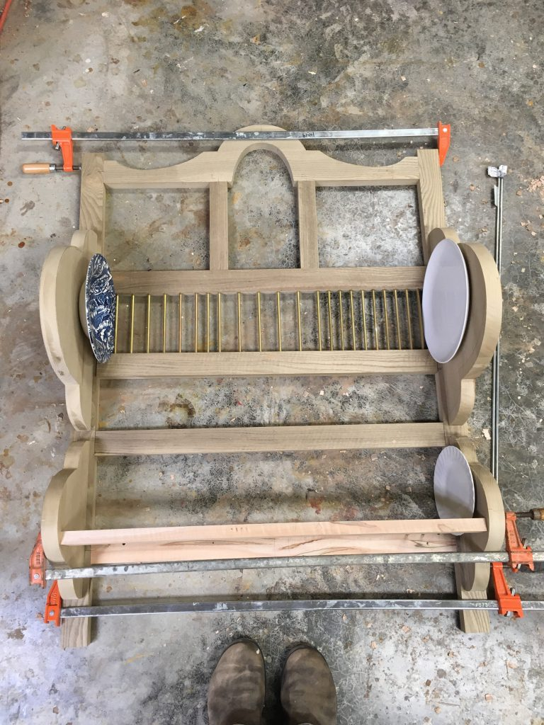 Designing A Traditional Plate Rack Part 1 Popular Woodworking Magazine