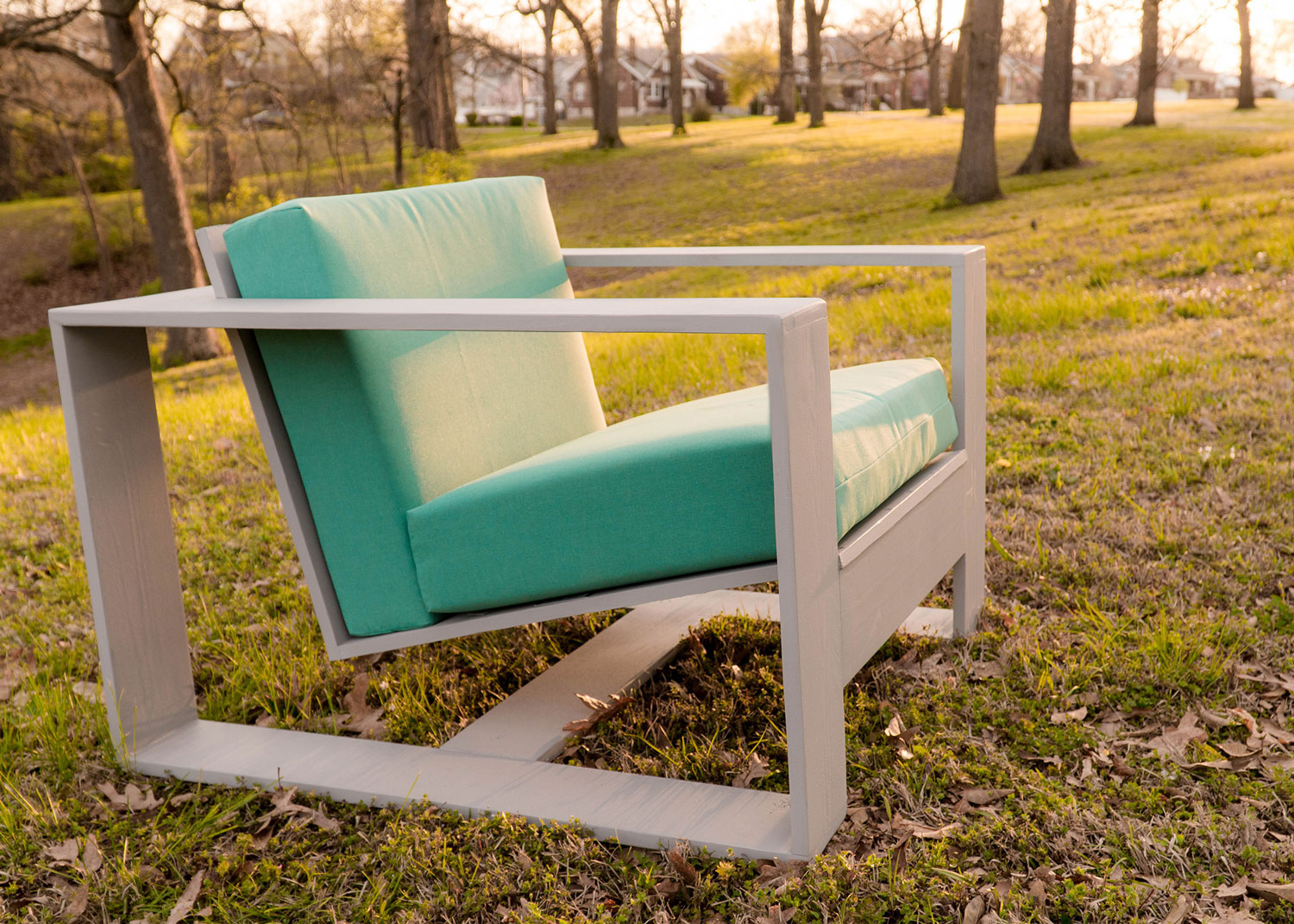 A Simple Modern Outdoor Lounge Chair Popular Woodworking Magazine