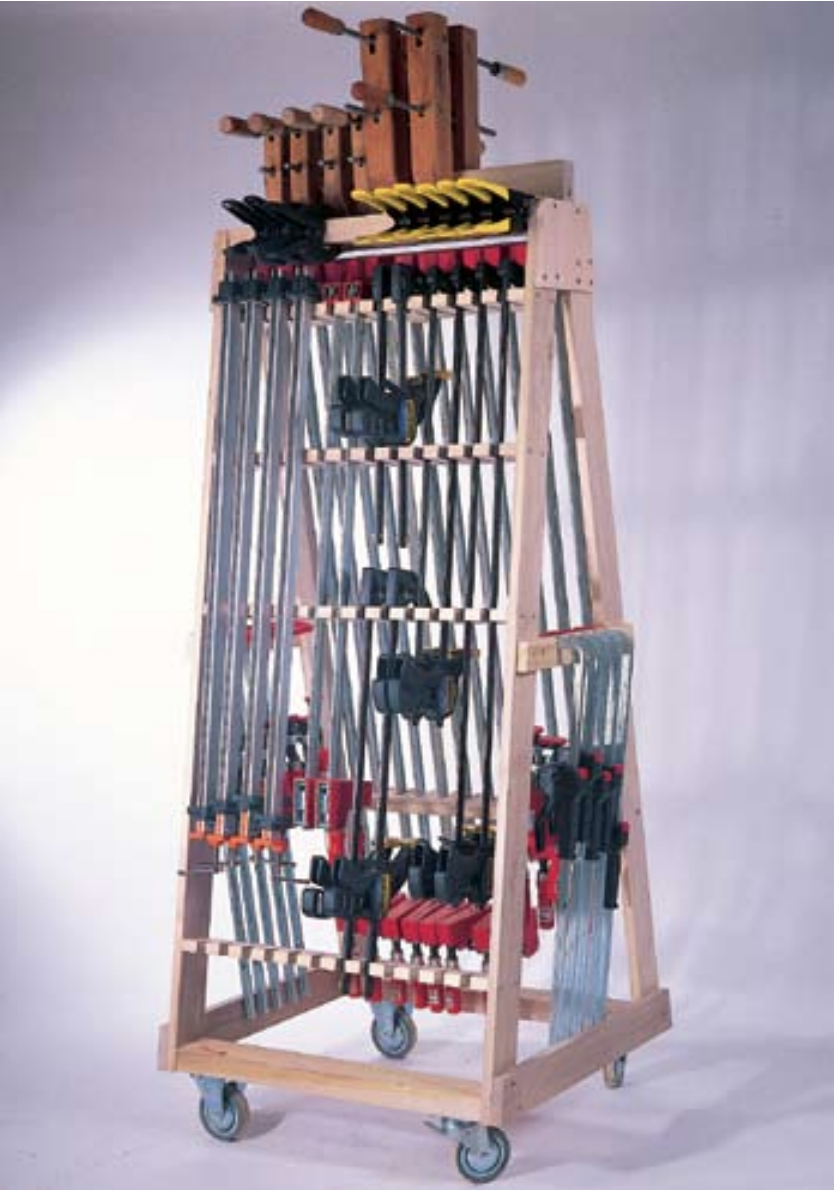 Rolling Clamp Rack Popular Woodworking Magazine