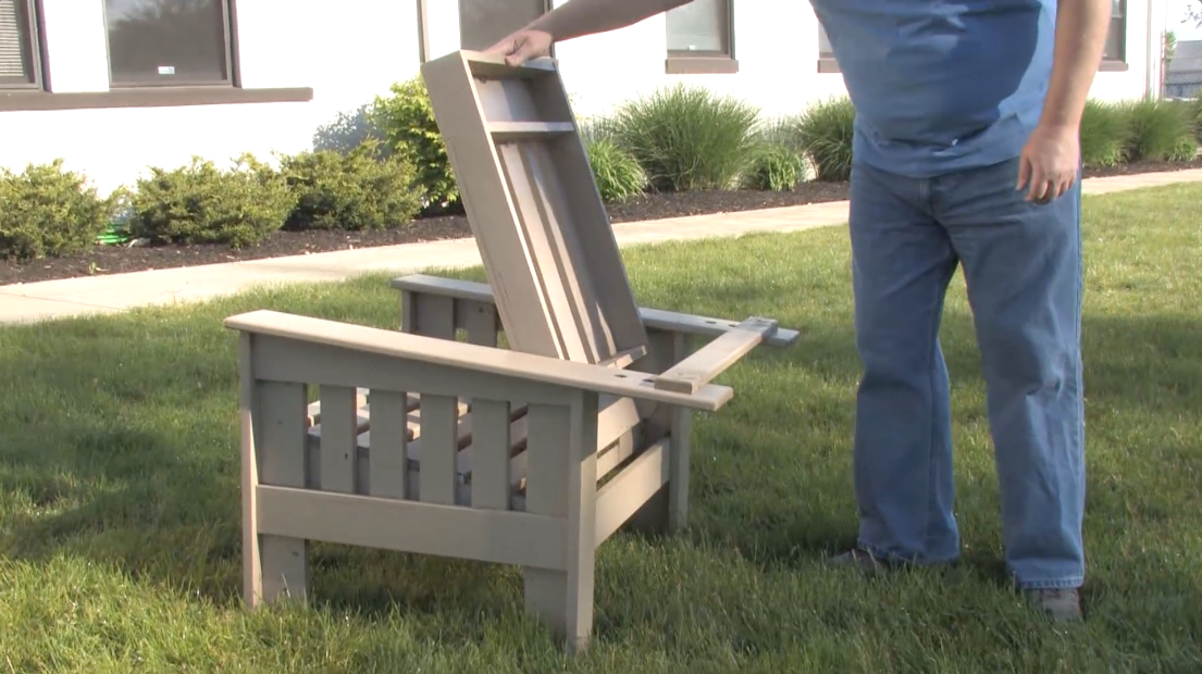 Building The 4 Hour Outdoor Morris Chair Popular Woodworking Magazine