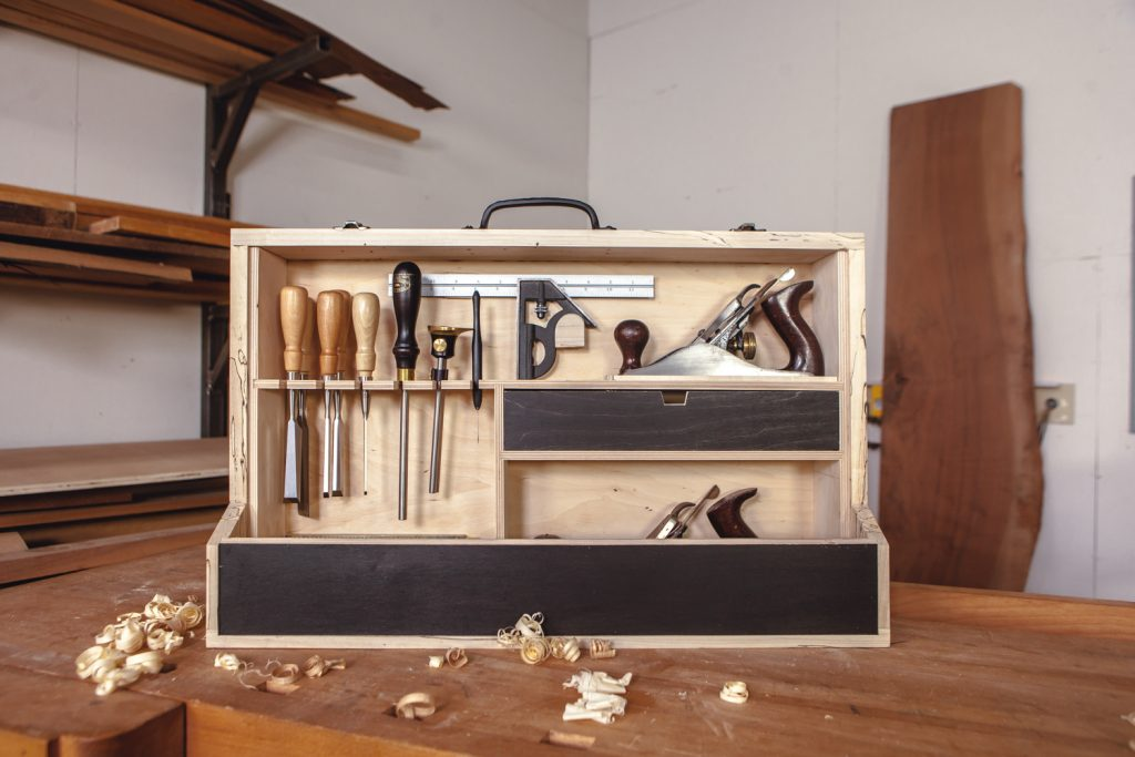 Traveling Tool Case built by David Lyell