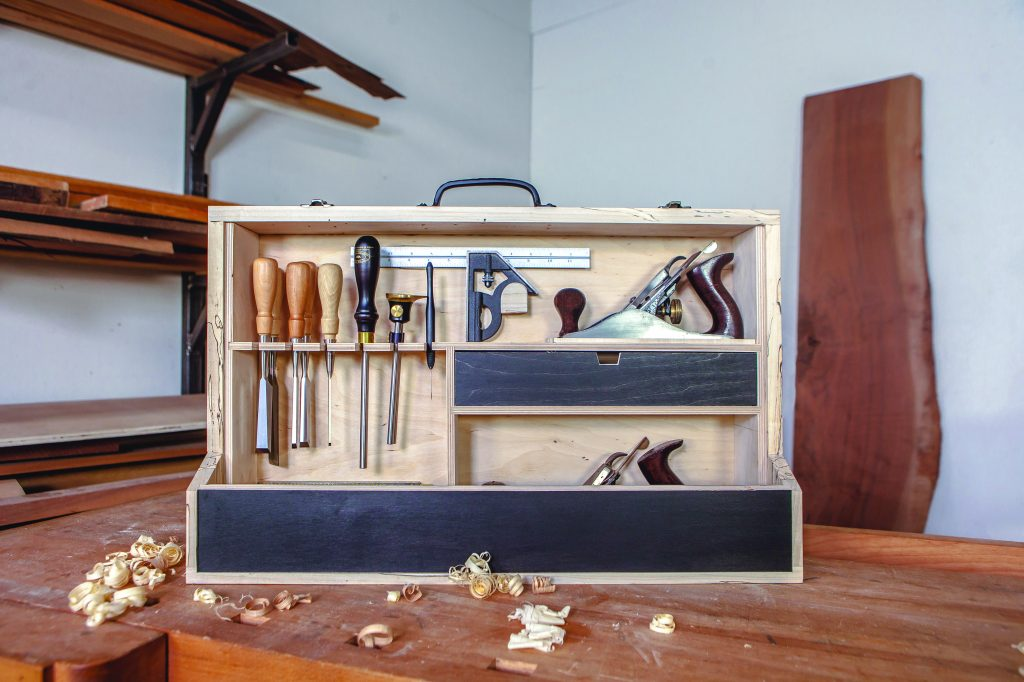 a traveler's tool chest
