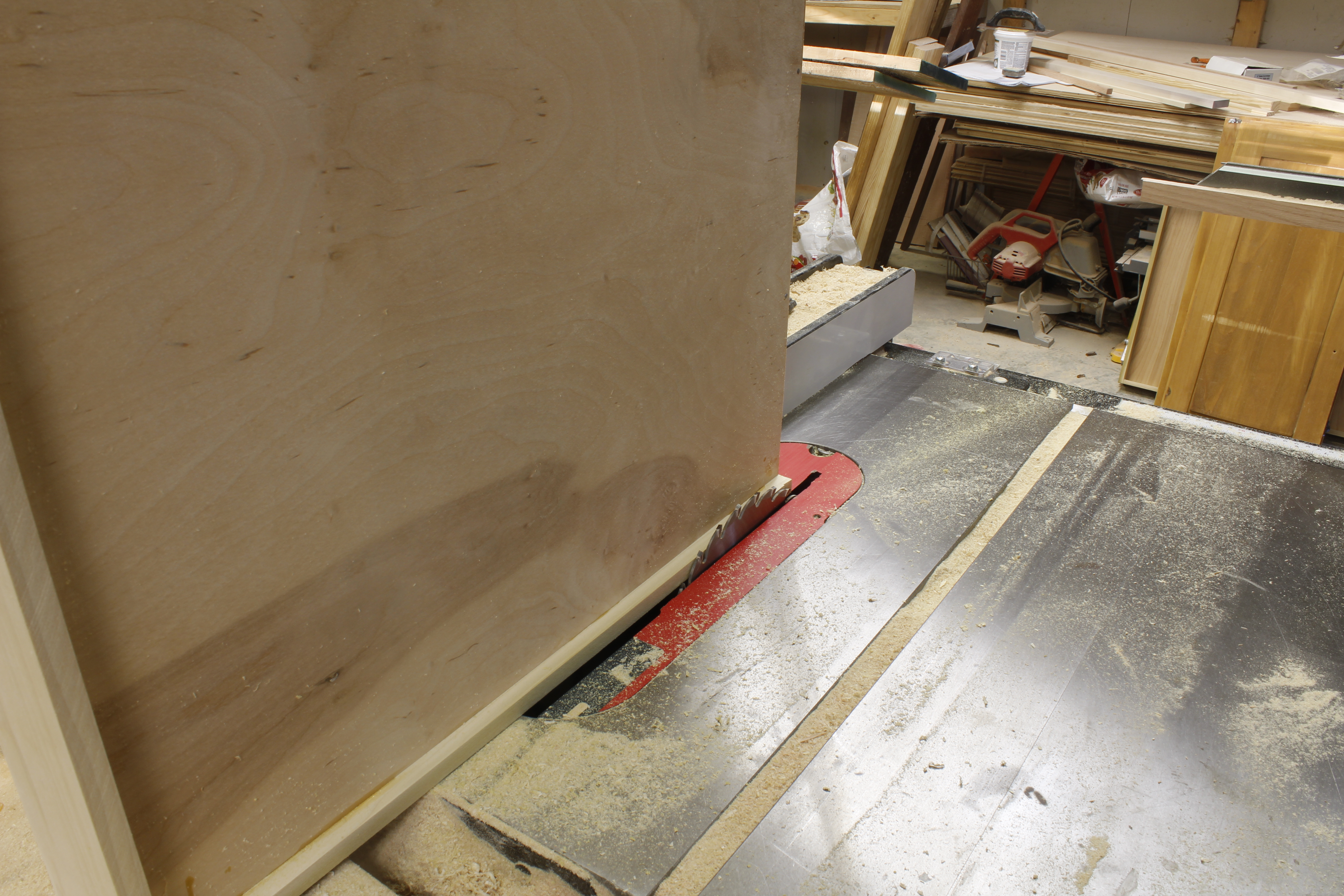 Convert a Kitchen Door Cabinet to Drawers