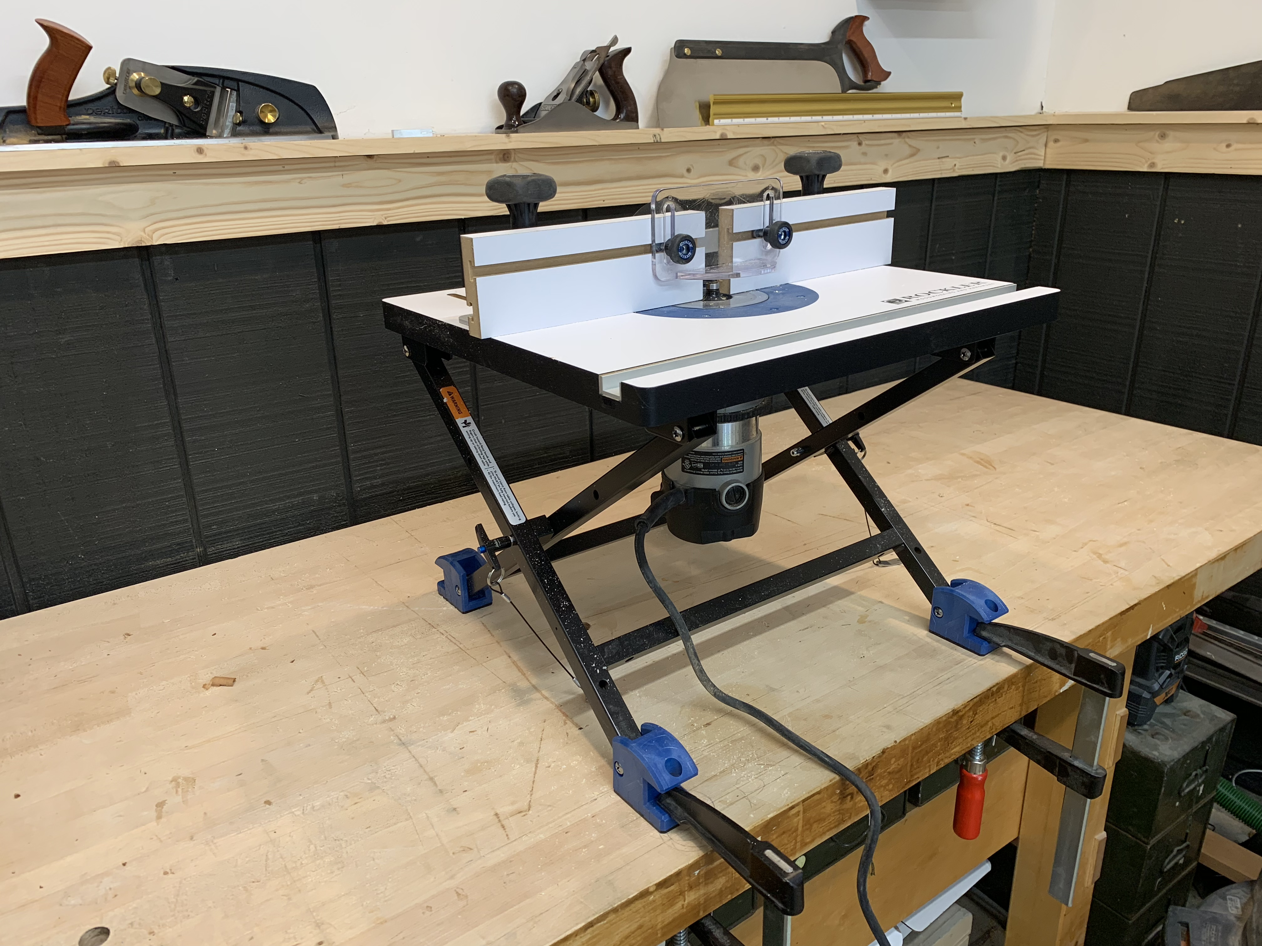 Tool News Rockler Convertible Benchtop Router Table Popular Woodworking Magazine