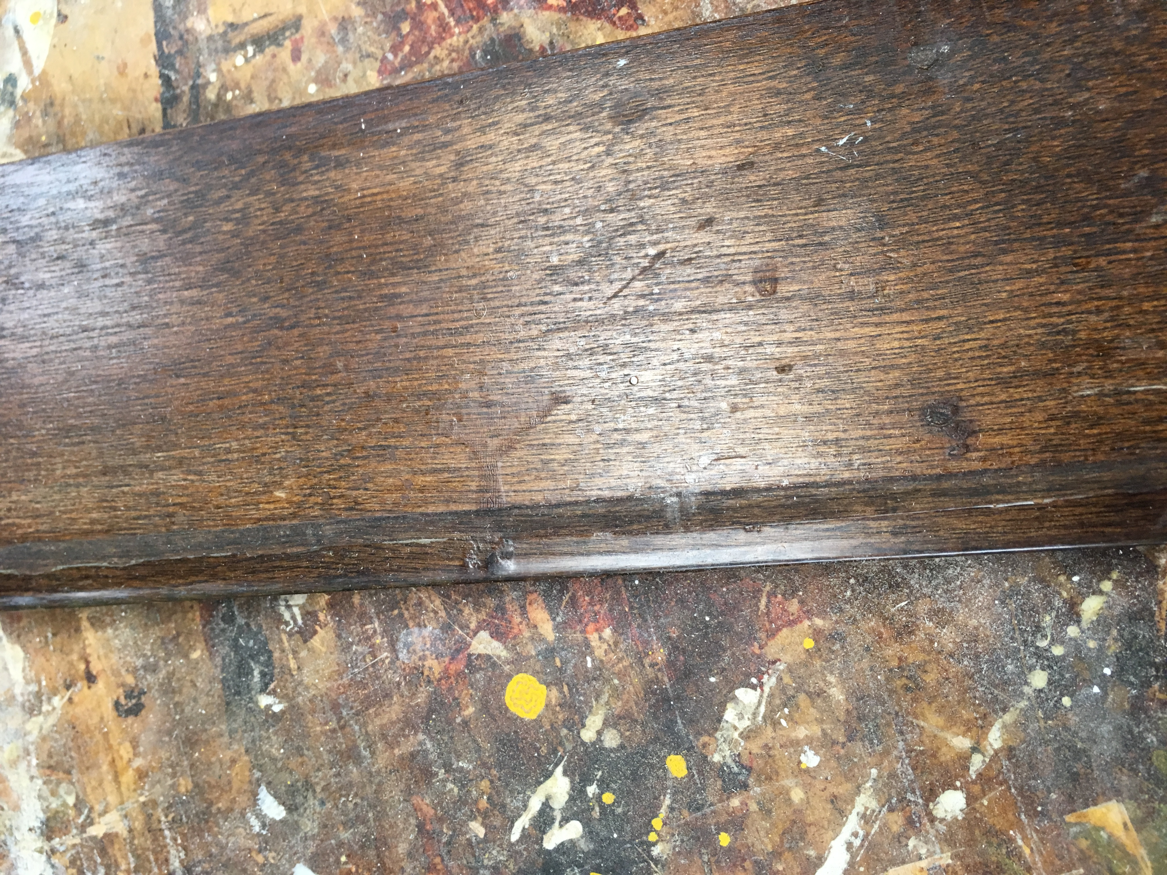 easy way to spiff up old trim