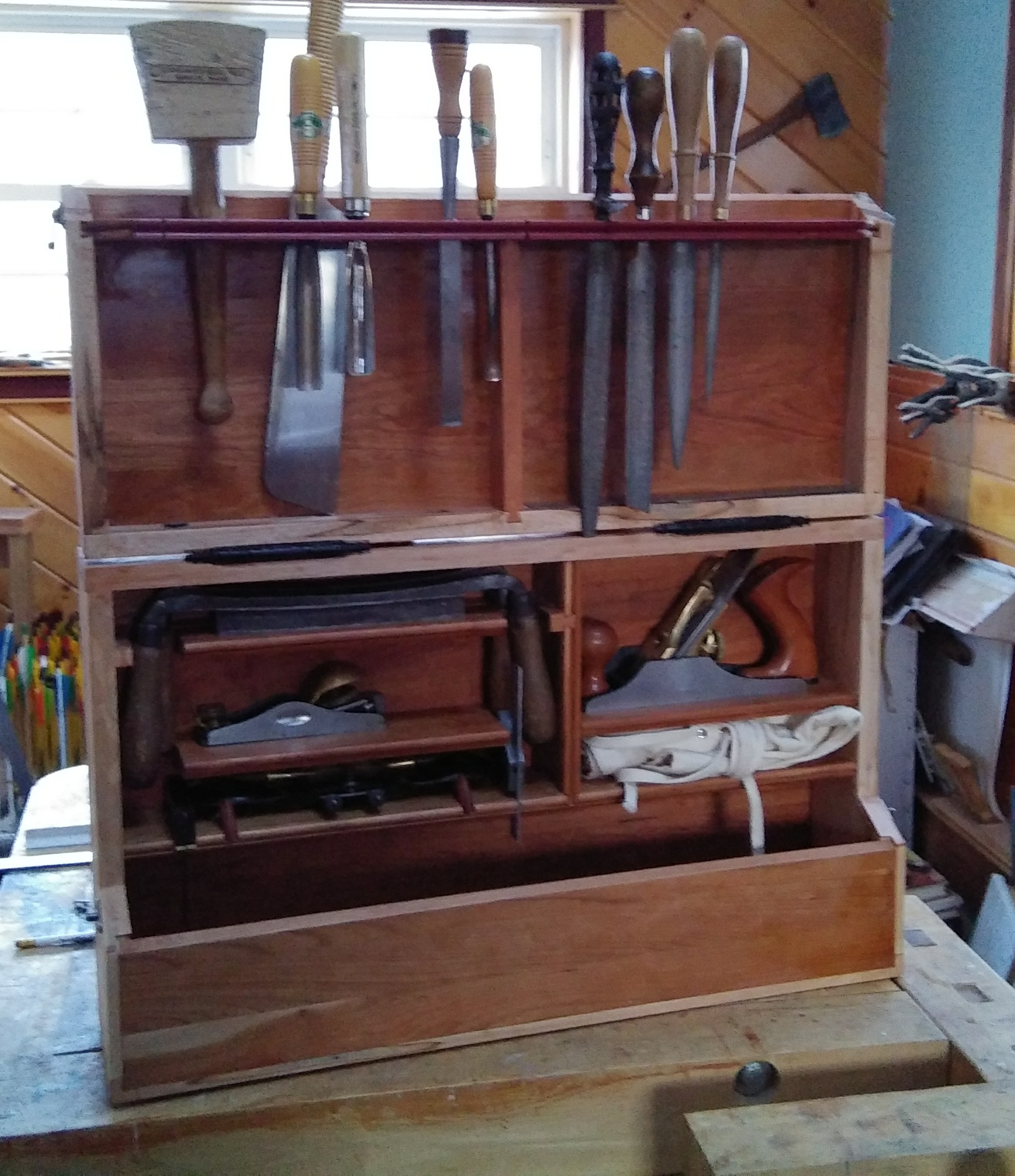 Traveling Tool Chest Popular Woodworking