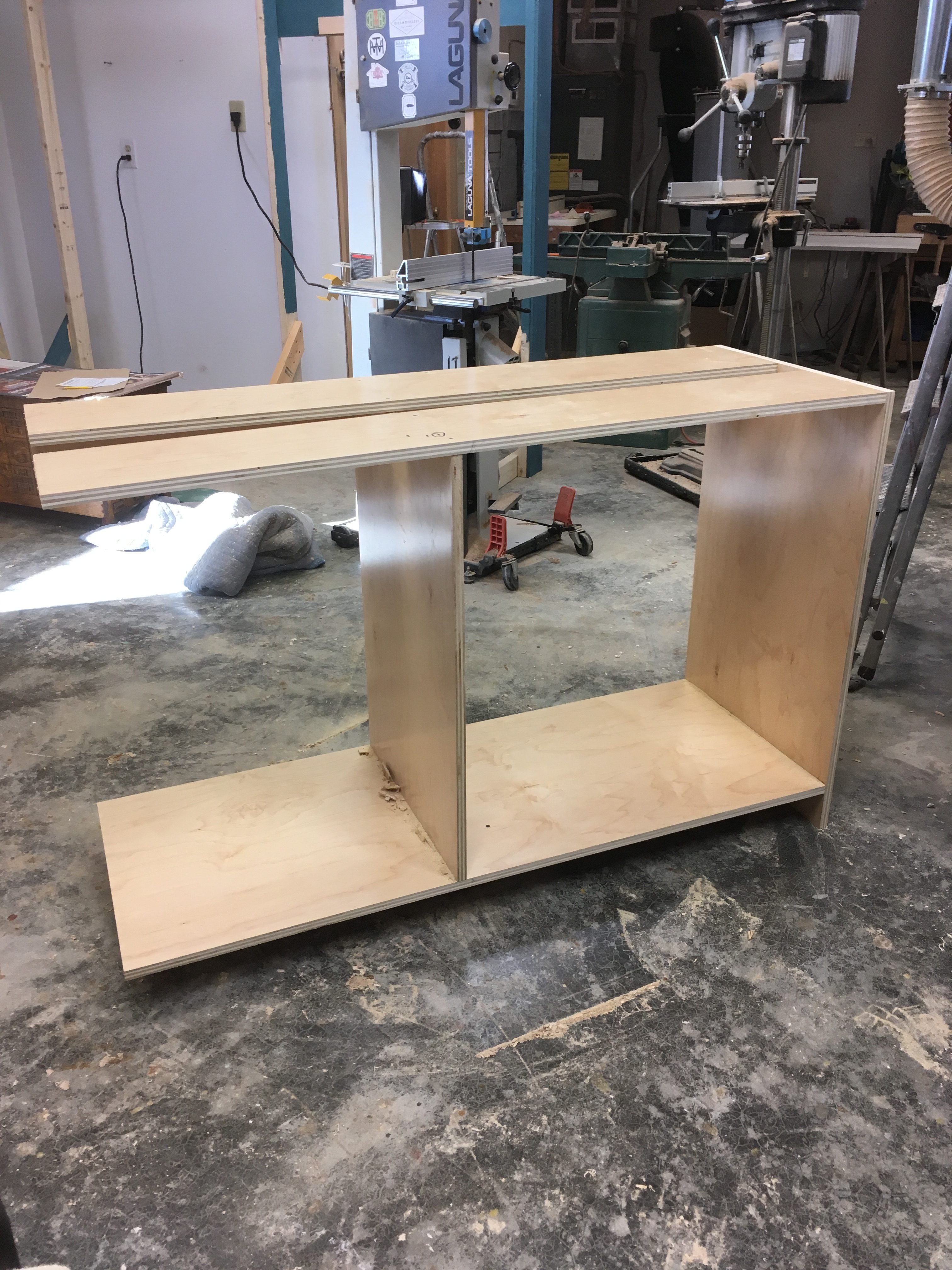 cut a cabinet down to size