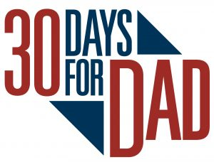 30 Days for Dad Sweepstakes logo