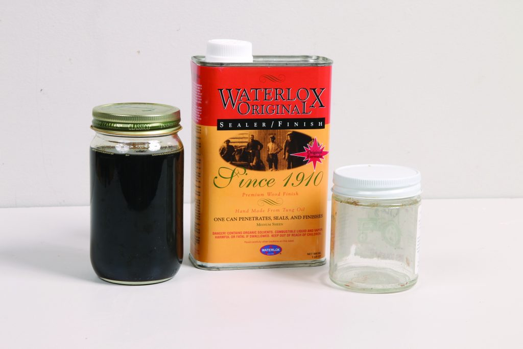 waterlox in a jar