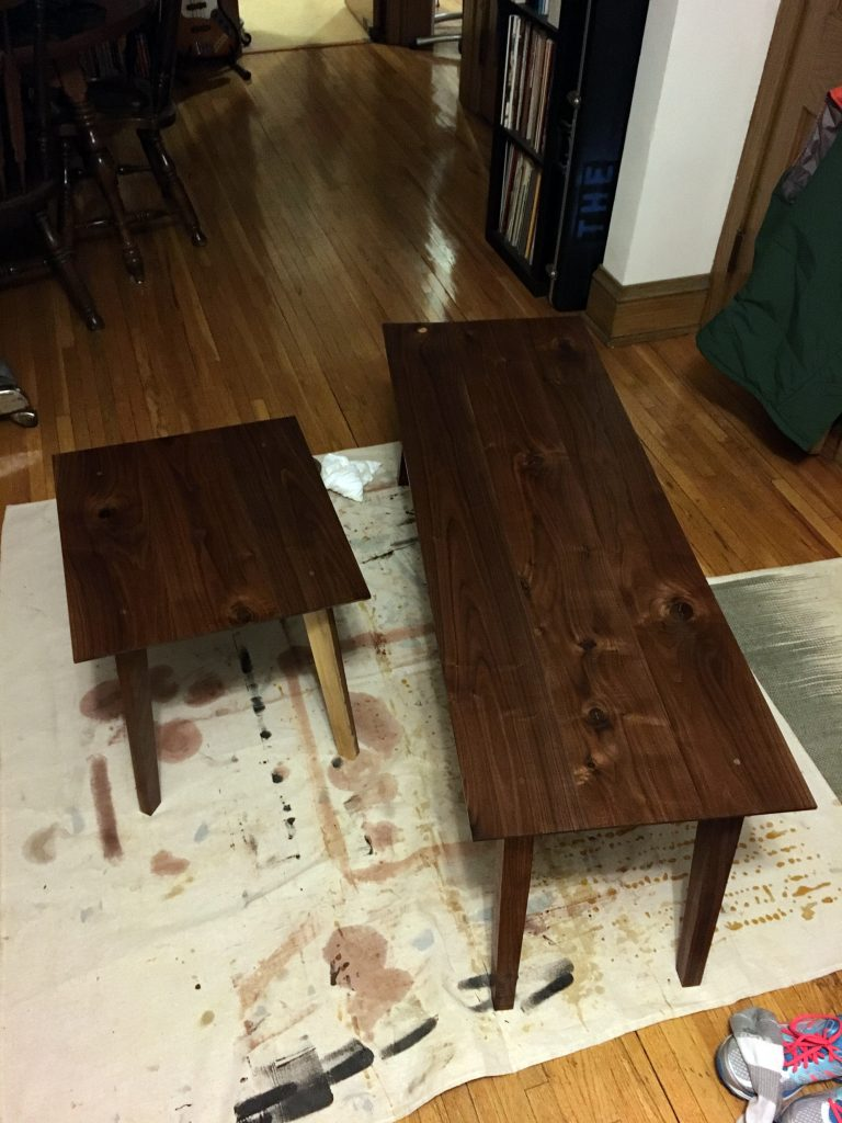 finishing tables