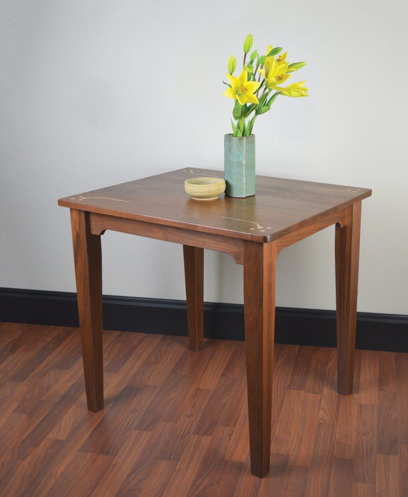 weekend walnut table