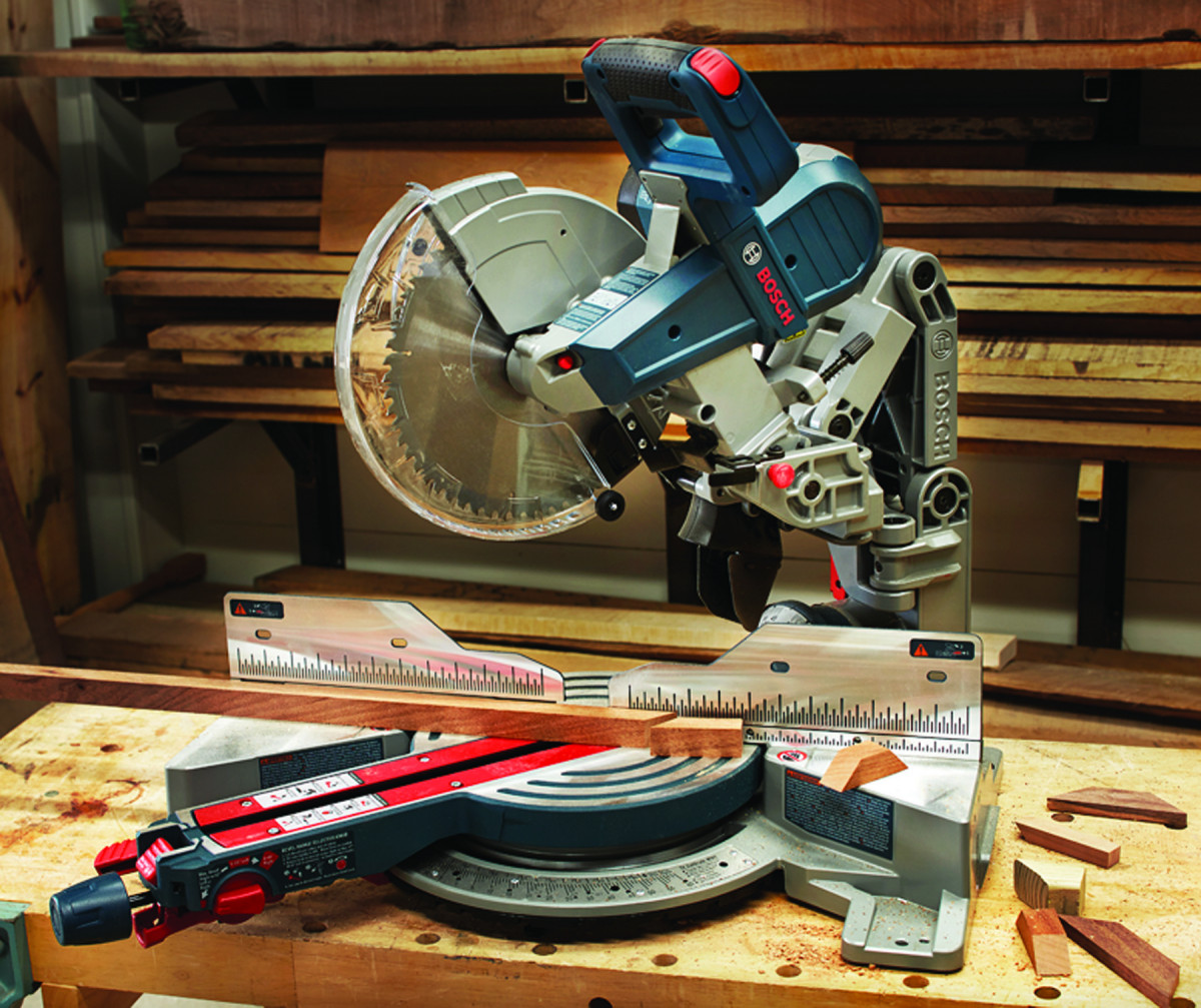 Tool Test: Bosch CM10GD Glide Miter Saw | Popular Woodworking Magazine
