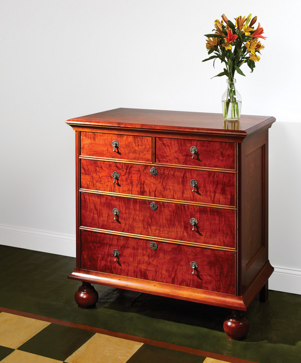 William & Mary Chest | Popular Woodworking Magazine