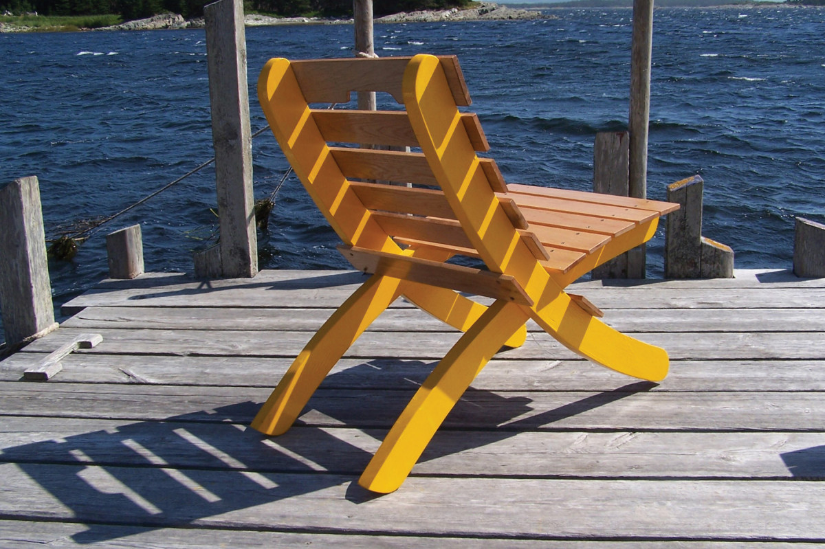 Dock Chair | Popular Woodworking Magazine