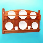 Stickley Style Plate Rack