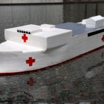 USNS Comfort and Mercy, A Scale Model, Part 5