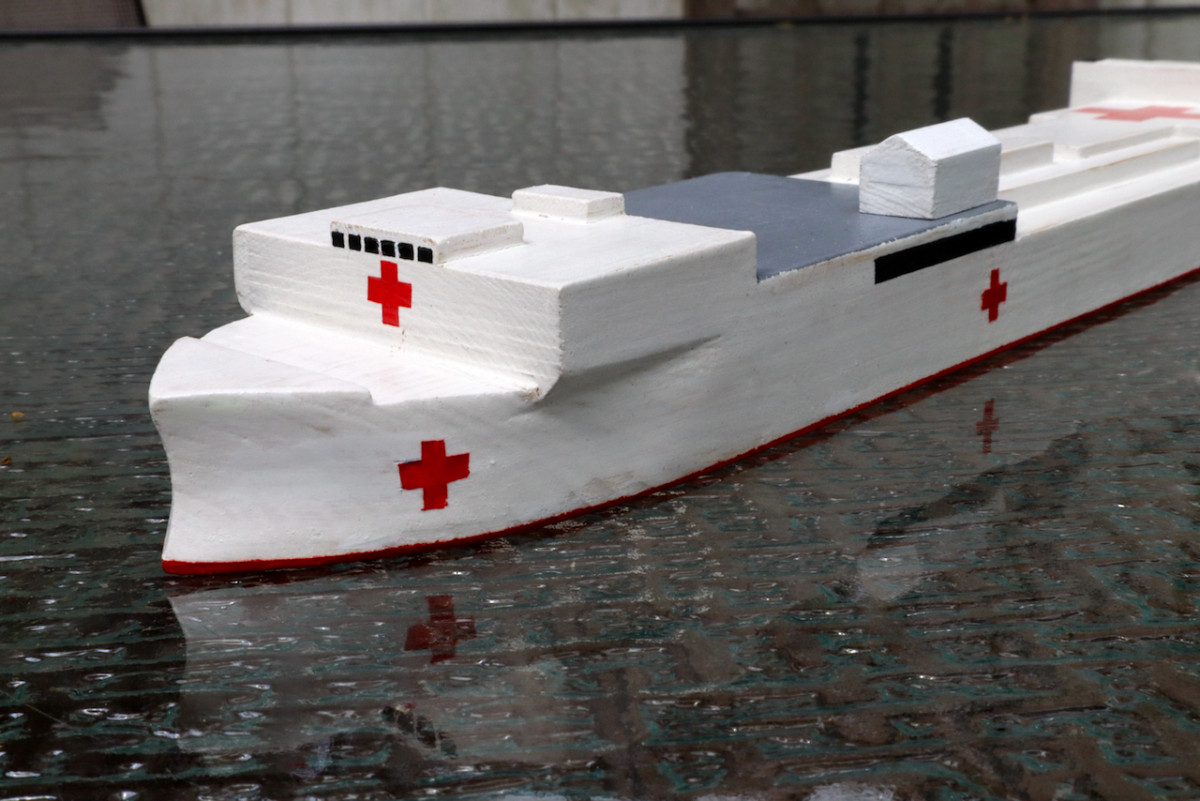 USNS Comfort and Mercy, A Scale Model, Part 5 | Popular Woodworking Magazine