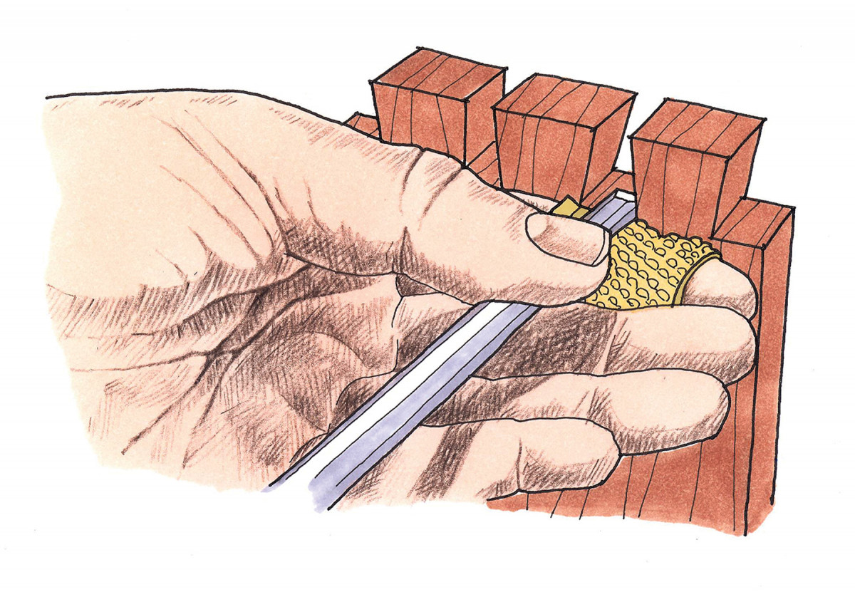 Protect Your Hands From Chisel Lands | Popular Woodworking Magazine
