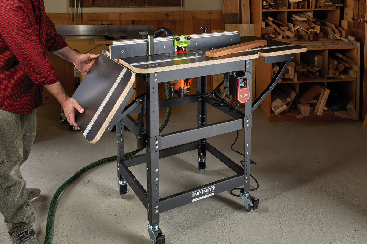 Infinity Professional Router Table Package Review | Popular Woodworking Magazine