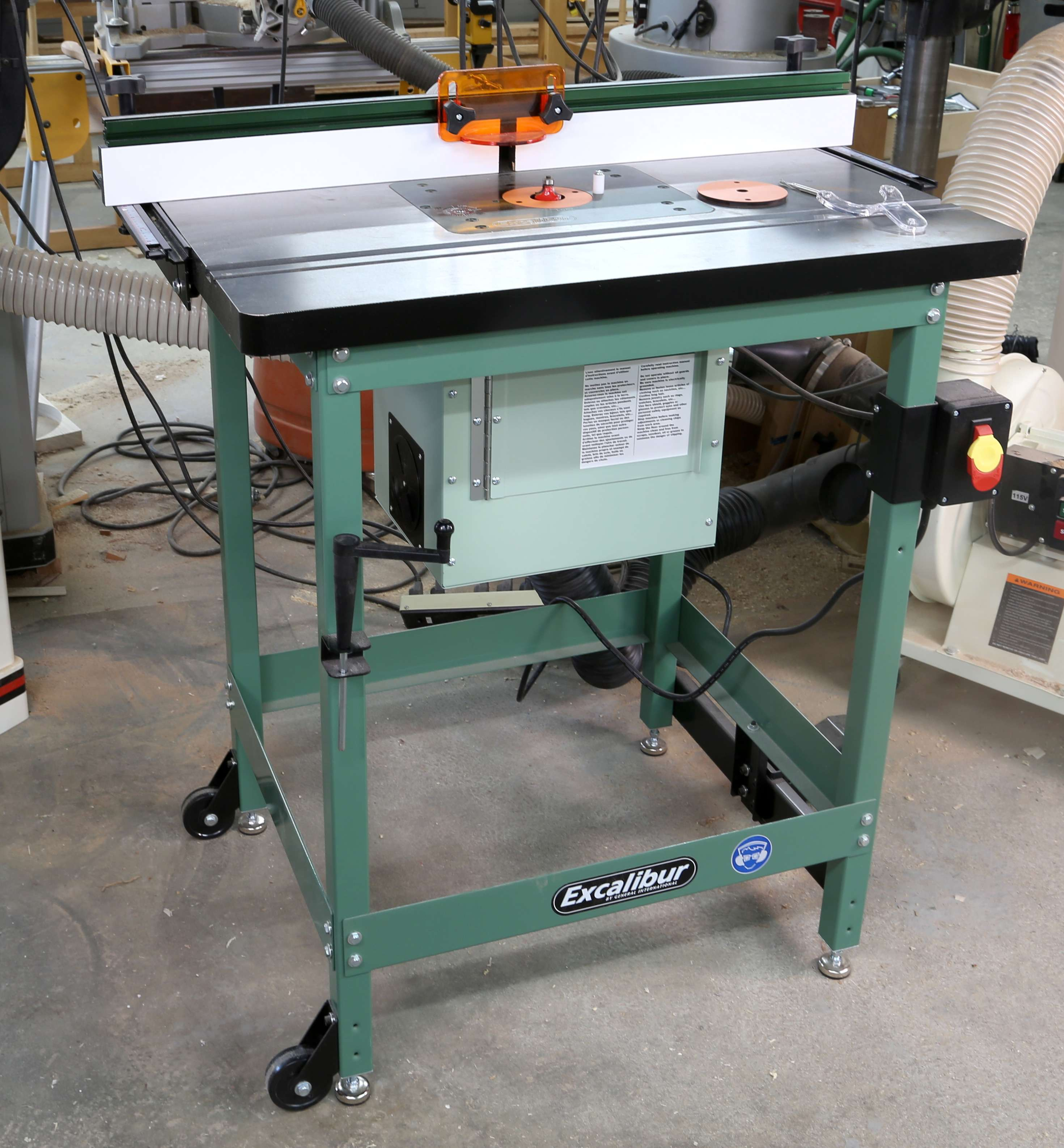 Take A Look At The Excalibur Deluxe Router Table Kit Popular Woodworking Magazine