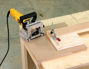 Problems arise if you don't hold the work steady and you don't keep the tool flat. This simple jig will let you keep both hands on the tool and the workpiece from moving.