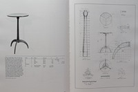 Shaker Round Stand - Page 194 of The Book of Shaker Furniture by John Kassay