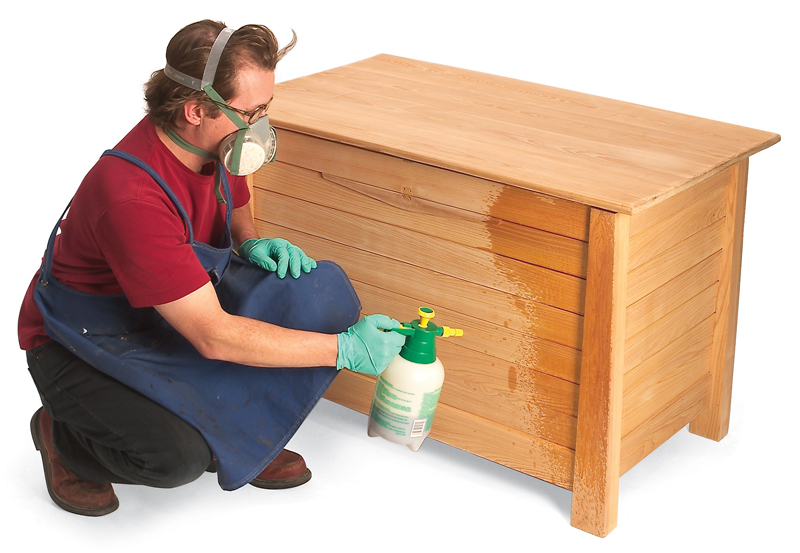 Outdoor Finishes Popular Woodworking, What Is The Best Finish Paint For Outdoor Wood Furniture