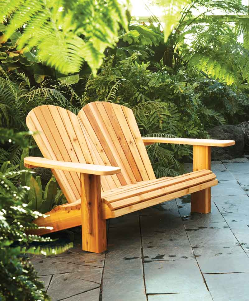 It is a graphic of Printable Adirondack Chair Plans for curved back