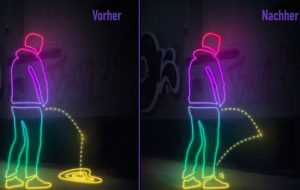 Pee-back paint
