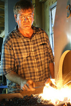 Brian at the forge.