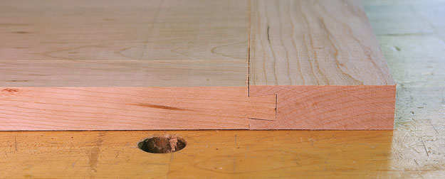 breadboard sliding dovetail
