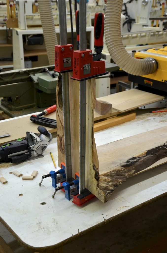 """Dry fitting the joint to find our about any """"surprises"""""""