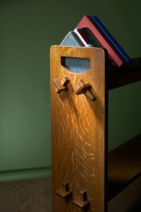 Stickley 74 Book Rack reproduction by Robert Lang