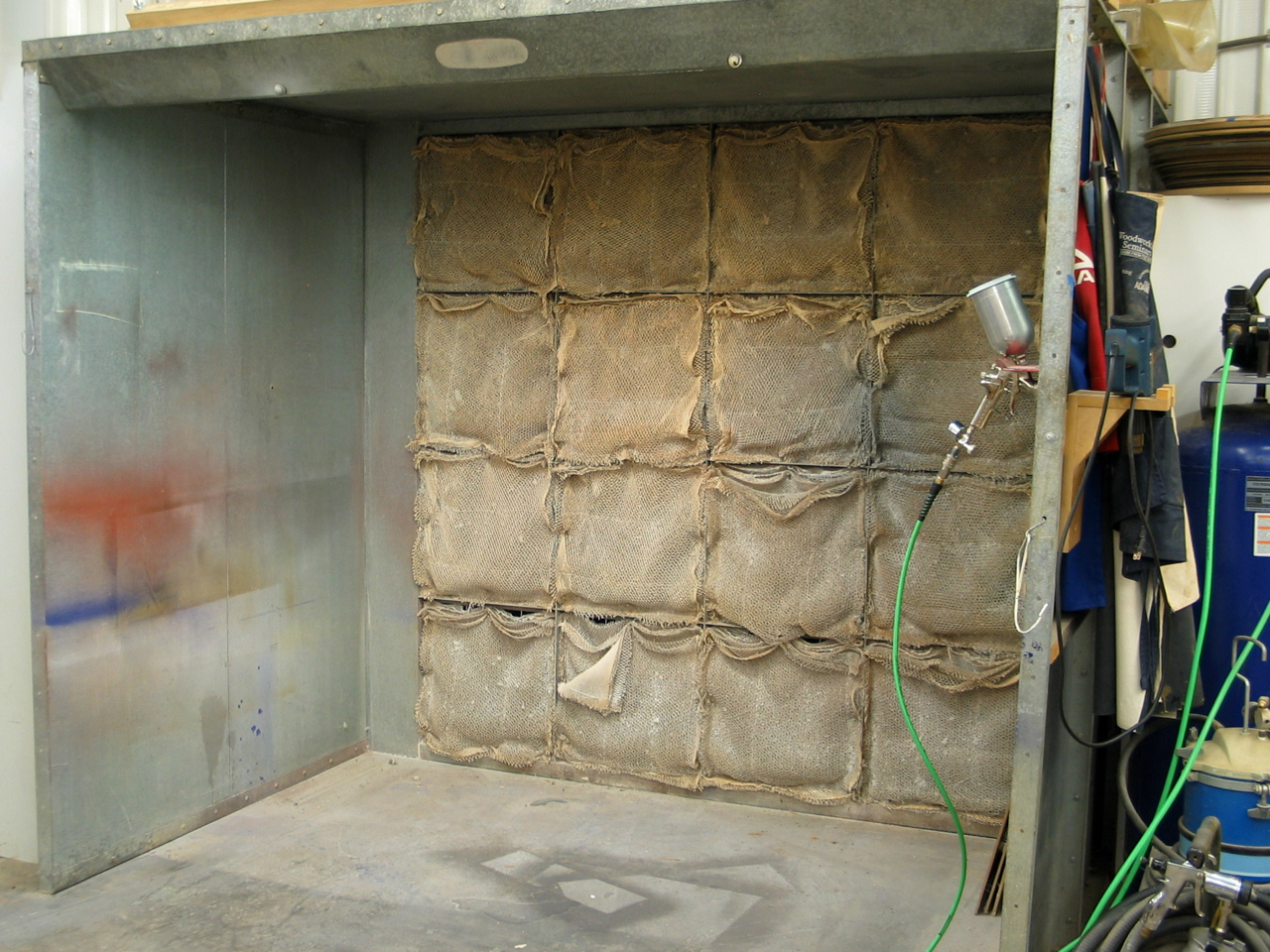 Spray Booth for a Small Shop | Popular