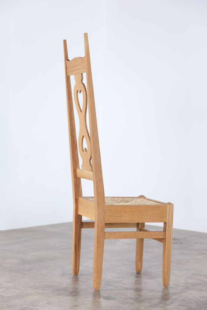 Voysey two heart chair