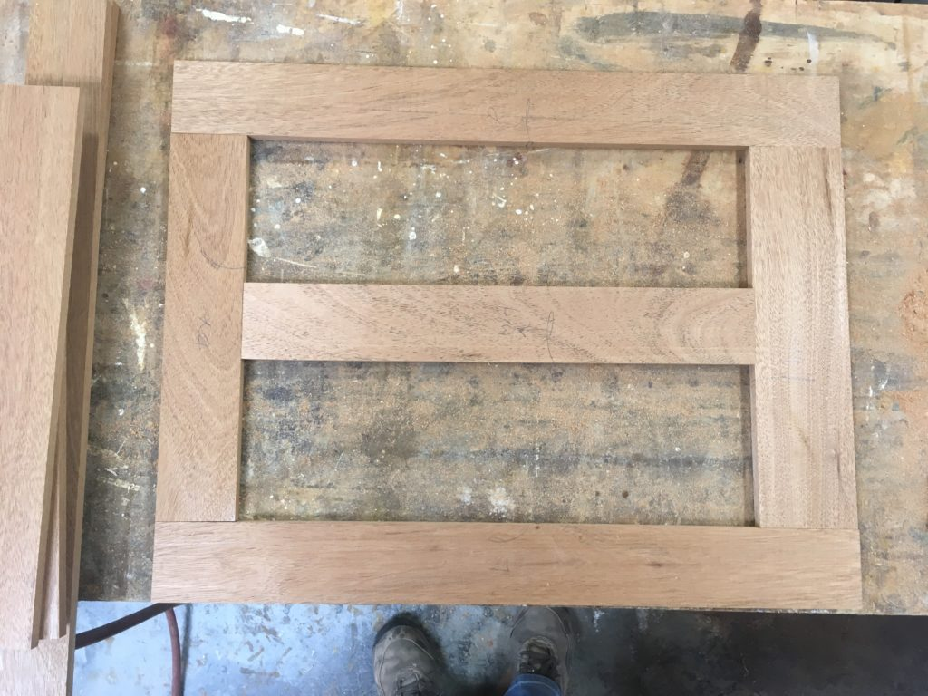 thin frame and panel