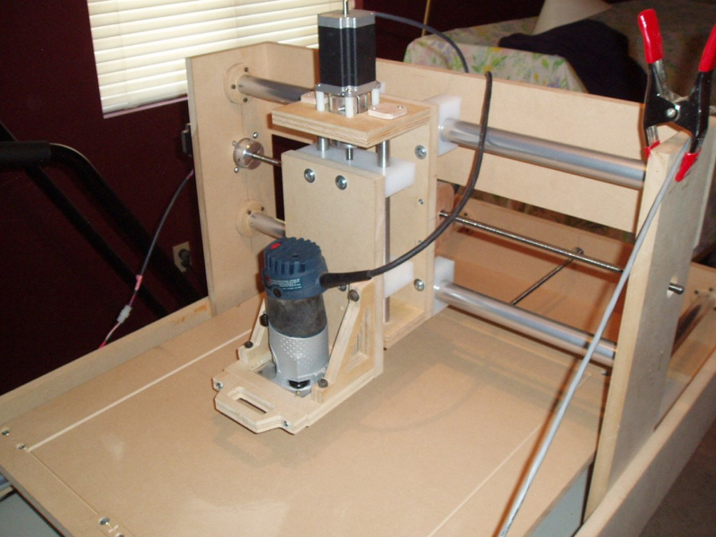 Kevin from Build a CNC Router made his own shaft collars from MDF.