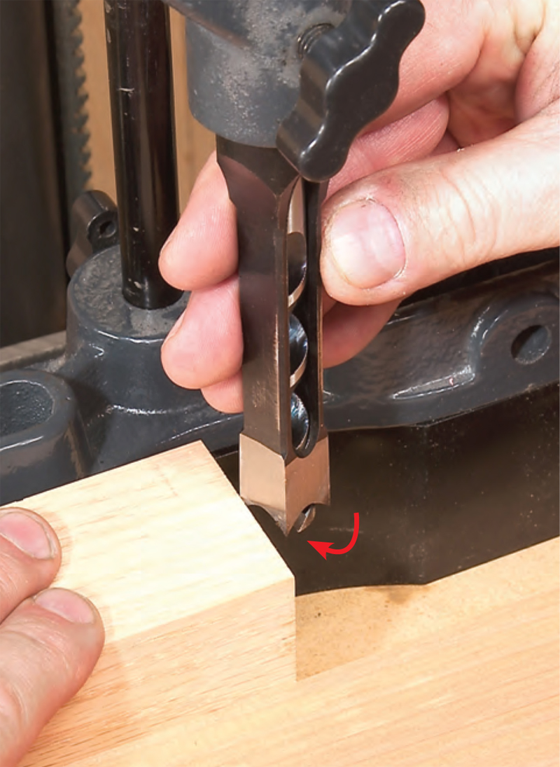 Mortising On The Drill Press Popular Woodworking Magazine