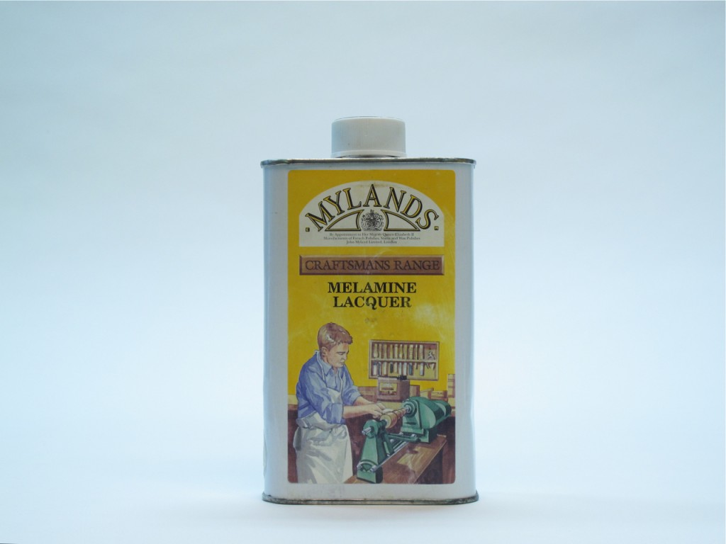 Mylands Melamine Lacquer. This is an older label.